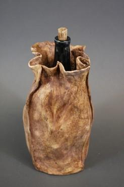 Wine Bottle in Paper Bag